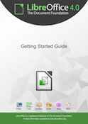 Cover of Getting Started with LibreOffice 4.0